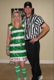 sassy inspirations football field halloween costume