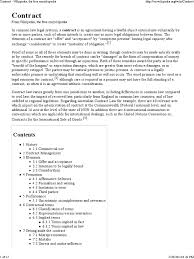 lexisnexis questions and answers contract law contract wikipedia the free encyclopedia contractual term