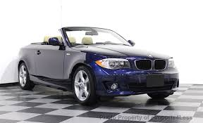 used bmw 1 series convertible 2013 used bmw 1 series certified 128i convertible navigation at