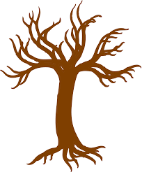 oak tree silhouette with roots clipart panda free clipart images