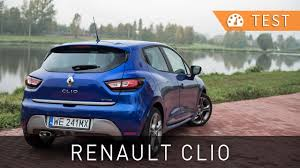 renault clio 2017 renault clio dci 110 intens gt line 2017 test pl review eng
