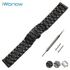 bracelet fossil steel images Stainless steel watch band 20mm 22mm for fossil butterfly buckle jpg