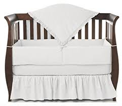 All White Crib Bedding American Baby Company Heavenly Soft Minky Dot 4