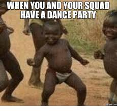 Dance Meme - 25 best memes about dance party meme dance party memes