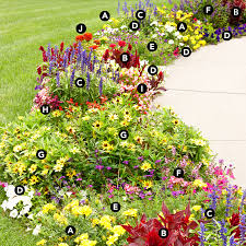 plant a flower border along the front walkway