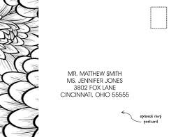 wedding invitations black white flowers 10 invitations 10 rsvp