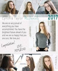 9 best kristin u0026 co graduation senior announcement templates