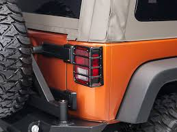 rugged ridge elite tail light guards rugged ridge wrangler euro tail light guards black 11226 02 07 18