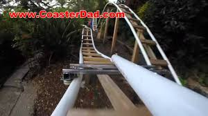 Backyard Roller Coaster For Sale by Backyard Roller Coaster Steel Wheel Assembly Test 3 Youtube