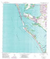 Anna Maria Florida Map by Bradenton Beach Topographic Map Fl Usgs Topo Quad 27082d6