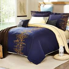 navy blue camel and gold tiger stripe shabby chic luxury unique