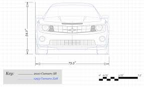 how much has chevrolet u0027s camaro grown since 1967 u2013 feature u2013 car