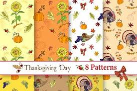 thanksgiving day pattern patterns creative market
