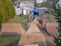 Bmx Backyard Dirt Jumps Brandon Semenuk At G U0027s Trails In Sheboygan Falls Wisconsin