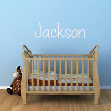 personalized kids decals stephen edward graphics boys name wall decal version 4 de0537