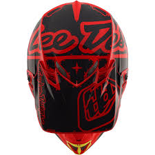 tld motocross helmets new troy lee designs 2018 mx se4 polyacrylite factory red tld