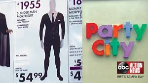 party city halloween costomes slenderman