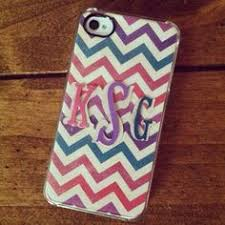 Monogrammed Scrapbook Diy Phone Case Tutorial Using Clear Spray Paint And Sealant Spray