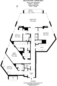 floor plan of 3 bedroom flat one hyde park 4 bedroom floor plan u2013 home plans ideas