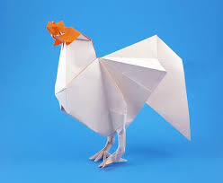 Origami Paper Works - origami hens and pheasants page 2 of 3 gilad s origami page