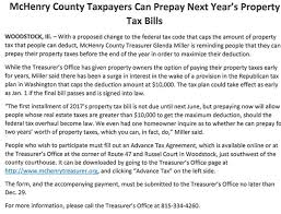 Be Like Bill Here S - country treasurer announces procedure to pay property taxes early