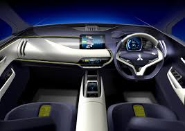 mitsubishi interior mitsubishi ex concept the latest generation of electric suv from