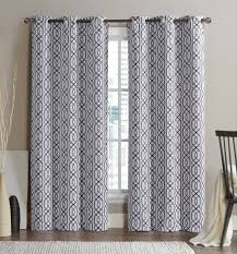 Gray Eclipse Curtains Amazon Com 2 Pack Alexander Energy Saving Hotel Quality Grommet