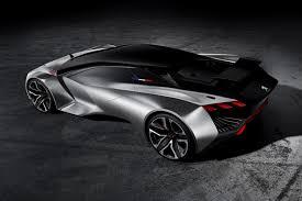 peugeot sports car 2015 peugeot vision gran turismo concept revealed