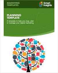 digital marketing plan template 5 free word pdf documents