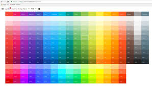 updated quickly creating material design colours in thunkable