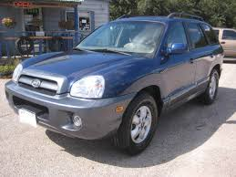 2006 hyundai santa fe gls 2006 hyundai santa fe gls for sale in tx from motors