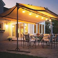 Sun Awnings For Decks Sunsetter Retractable Awnings Awning Accessories