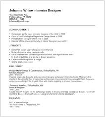 Resume Landscape Architect 100 Interior Designer Resume Interior Design Internship Cover