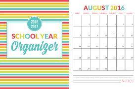 to do planner template school year organizer planner printable pack yellow bliss road front