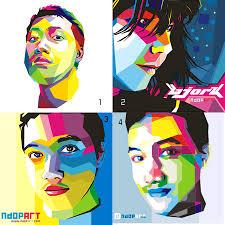 tutorial wpap lewat photoshop belajar wpap wedha s pop art portrait sang vectoria jenaka