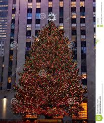 in new york rockefeller center tree