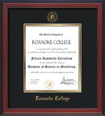 college diploma frames roanoke college diploma frames and custom rc graduation displays