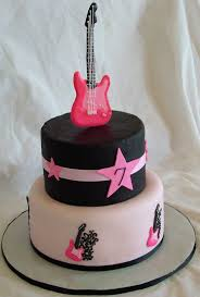 guitar cake topper a sweet cake archive guitar cake 2