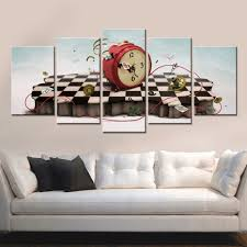 popularne rectangle clock wall kupuj tanie rectangle clock wall