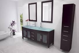 avola 63 inch double sink bathroom vanity espresso finish