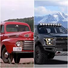 ford trucks feast your eyes on 100 years of payload hauling off roading