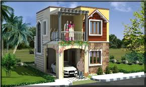 Traditional House Elevation Indian Traditional House Elevation - Front home design