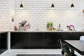 carrelage mur cuisine moderne best cuisine carrelage mural noir ideas design trends 2017
