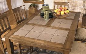 tile top dining room tables exquisite design butcher block dining room tables 8ft butcher block