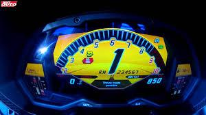 lamborghini murcielago speedometer lambo aventador lp 750 4 sv 0 300 km h 0 highspeed braking youtube