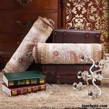 canape violet pas cher textile de maison mode cylindrique oreiller coussin canapé violet