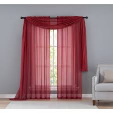 Sheer Maroon Curtains Sheer Maroon Curtains Decorating With Vcny Infinity Sheer Rod