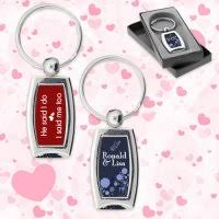 keychain favors personalized wedding keychains wedding favor keychains