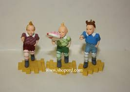 hallmark 1998 the lollipop guild set of 3 ornament the wizard of