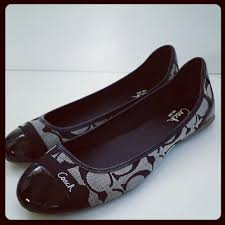 Flatshoes 64 Off Coach Shoes Sale Coach Flat Shoes In Black From